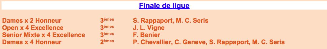 Finale de Ligue